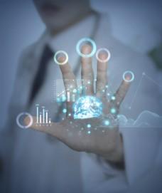 现代医学医生技术黑科技海报