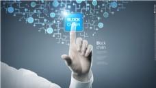 未来手机智能信息科技数据分析海报设计