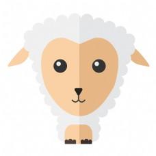 可爱Q版绵羊免抠