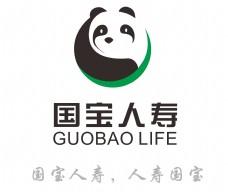 国宝熊猫人寿logo