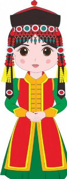鄂尔多斯蒙族传统服饰