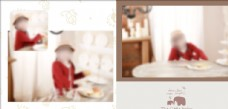 相册模板儿童生日照片设计