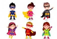 卡通超人儿童