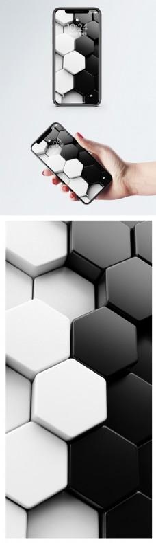 3d抽象背景手机壁纸