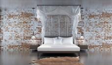 温馨卧室软装效果展示