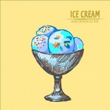 手繪冰淇淋