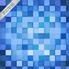 藍色幾何背景