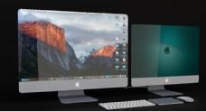 苹果iMac台式电脑3D模型