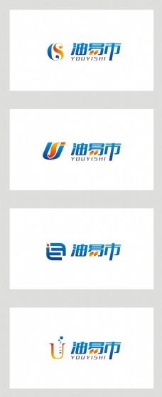 简约大气彩色化学商标创意logo