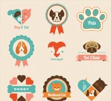 小狗元素图标