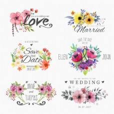 矢量鲜花设计素材