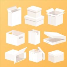 纸箱包装样机