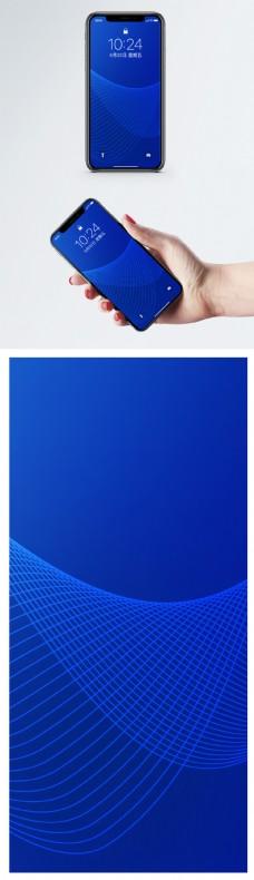 几何背景手机壁纸
