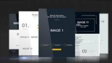 黑色系企业网站宣传或网页设计开发演示模板