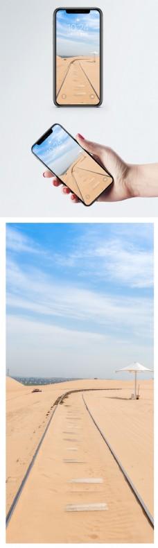 沙漠风光手机壁纸