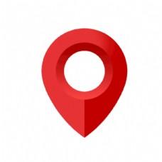 红色定位图标