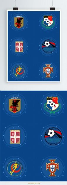 俄罗斯世界杯队徽元素设计