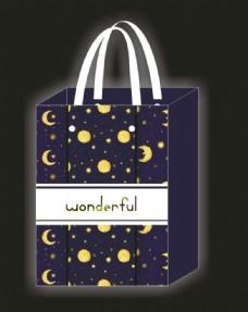 夜晚手提袋