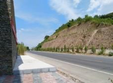 山间道路风景