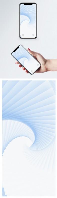 纸张漩涡手机壁纸