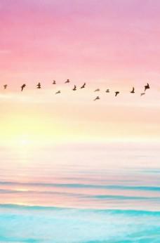 风景画 海