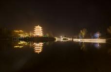 夜色的公园