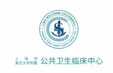 上海市公共卫生临床中心旗帜图