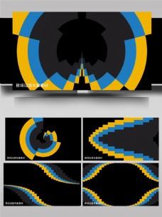 29个转场动画卡通排列展示ae模板
