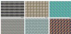 6款多彩复杂特色填充图案纹理