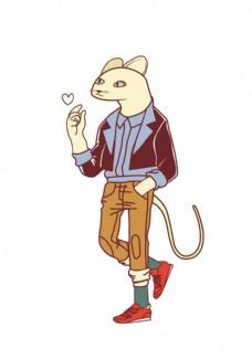 老鼠卡通人物