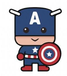 卡通美国队长
