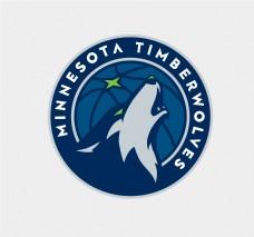 森林狼最新logo