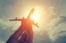 手中的飞机
