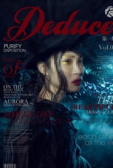 时尚模特人物杂志封面图片下载