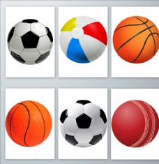 篮球足球素材