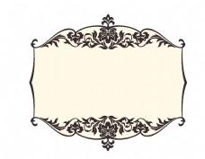 手绘欧式边框元素设计